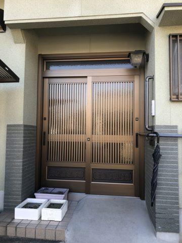姫路市 玄関ドア取替え