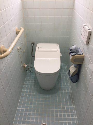 姫路市 トイレ取り替え