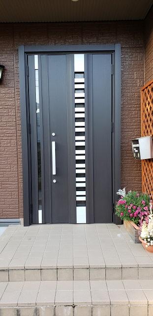 赤穂郡 玄関ドアの交換