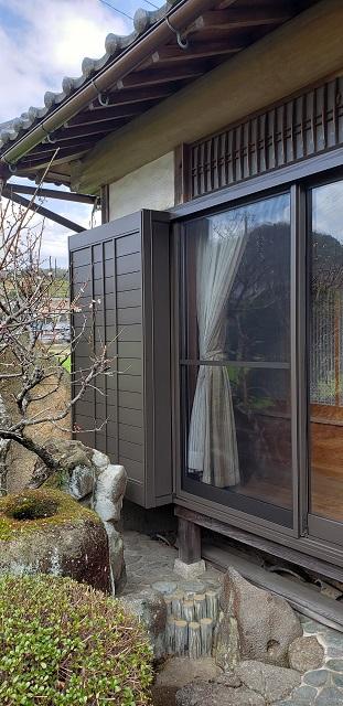 赤穂市 木製窓からサッシ窓に取替え