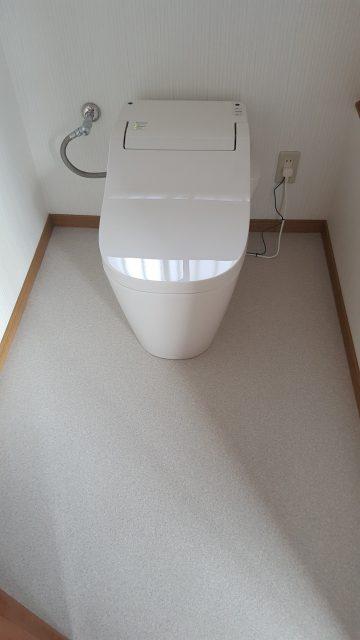 相生市 トイレが明るくなりました!