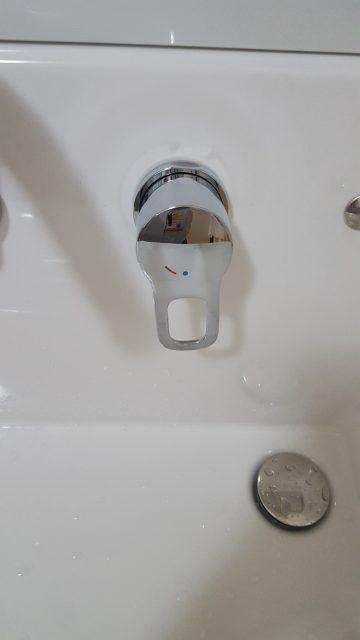 洗面化粧台取替