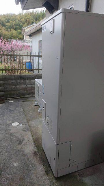 姫路市 お湯が出ないエコキュート