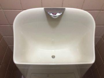 TOTOのトイレの手洗い部分
