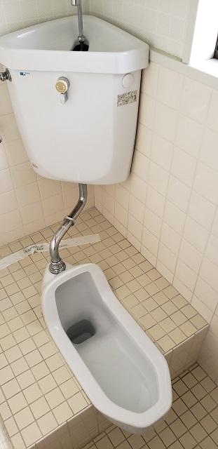 赤穂市 トイレを和から洋に改修