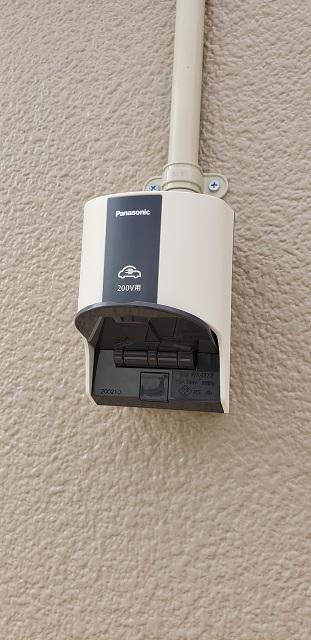 赤穂市 電気自動車充電用コンセントの設置