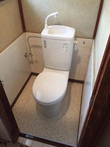 姫路市 簡易水洗トイレ
