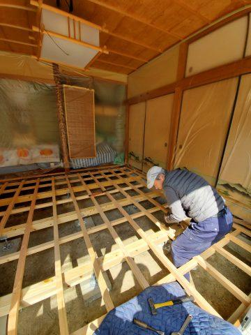姫路市 和室床改修工事