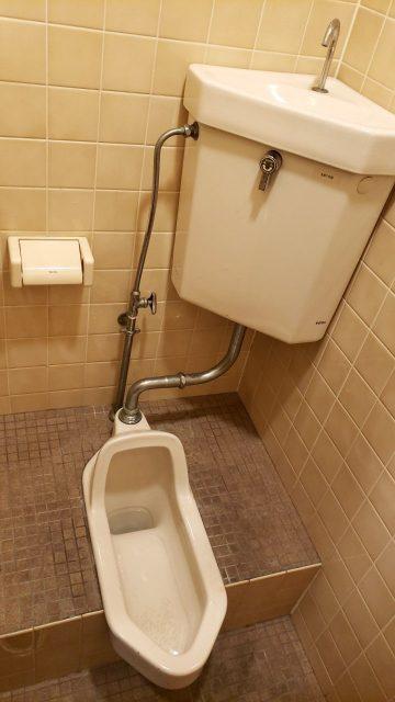 姫路市 トイレ改修工事(和式→洋式)