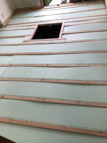 姫路市 キッチン入替え、床張り替え工事完工