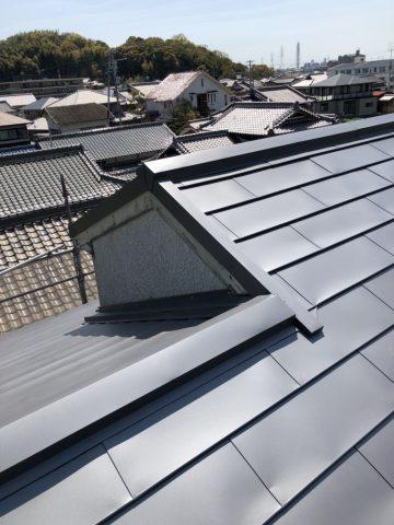 姫路市 屋根カバー工法