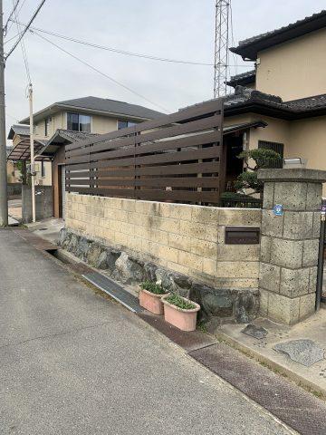 姫路市 フェンス新設