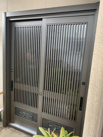 姫路市 玄関ドア工事