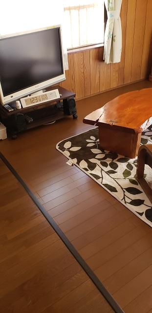 相生市 畳からフロアーに改修工事