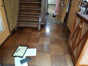 廊下階段工事