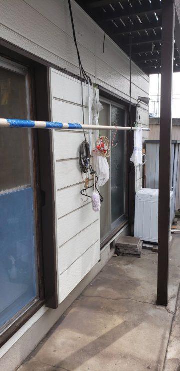 姫路市 木製雨戸からアルミ雨戸に