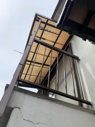姫路市 波板貼り替え工事