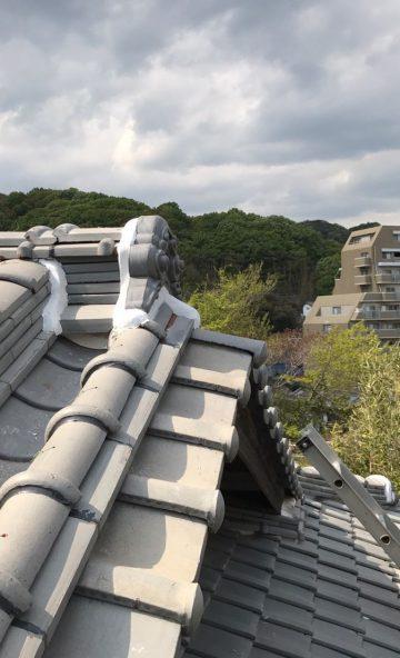 備前市 屋根補修工事!