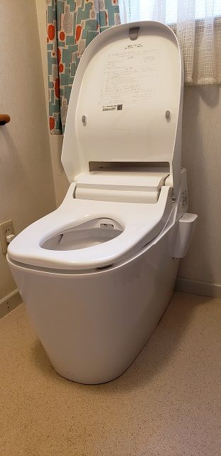 赤穂市 トイレの取替工事