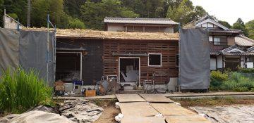 赤穂市 建屋の解体工事