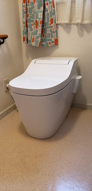 赤穂市上仮屋南 Ⅿ様邸 トイレ取替工事