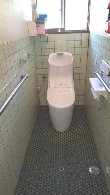 上郡町 節水トイレに替わりました!