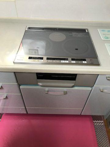 姫路市 IHクッキングヒーターの取替