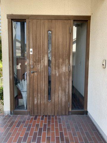 姫路市 玄関ドア取替え工事