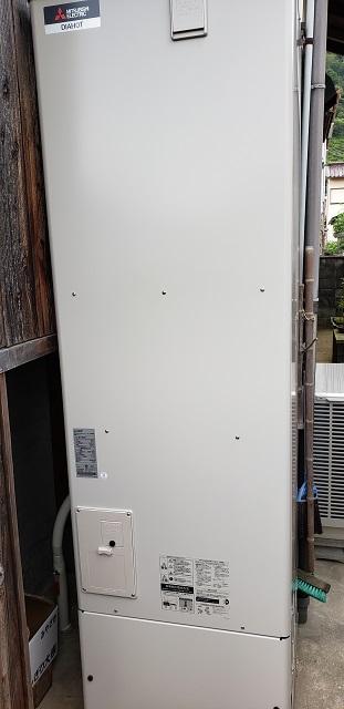 赤穂市 電気温水器からエコキュート