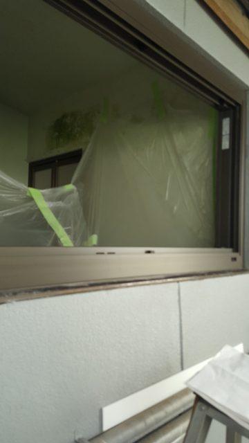 浴室窓改修