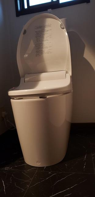 赤穂郡上郡町 便器取替と手洗器の撤去