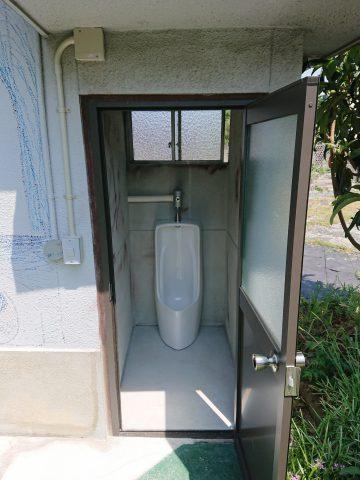 姫路市 外部トイレ設置工事