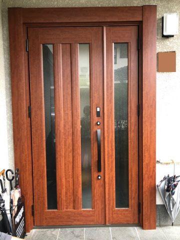 姫路市 玄関ドア取替
