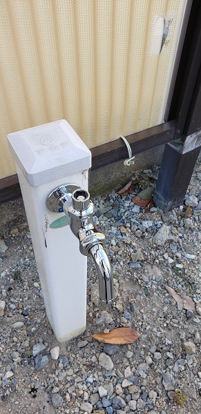 ロック付き水栓施工後1