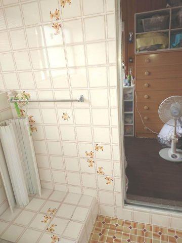 浴室手すり工事