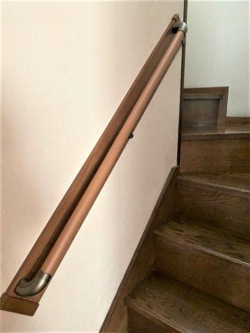 高砂市 階段手すり取付工事
