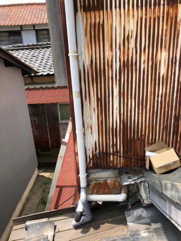 姫路市 雨樋修理工事