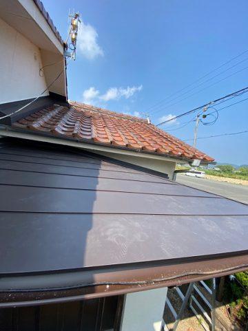 屋根板金施工2