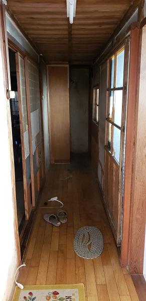 浴室施工前6(廊下)