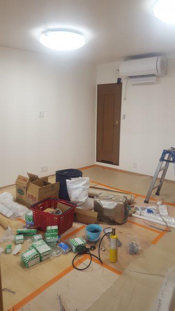 内部改修工事