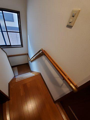 姫路市 階段手すり工事
