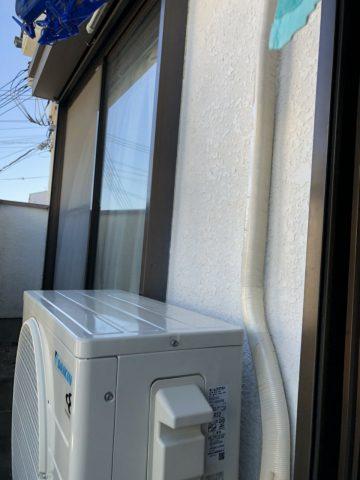 神戸市 エアコン新設工事