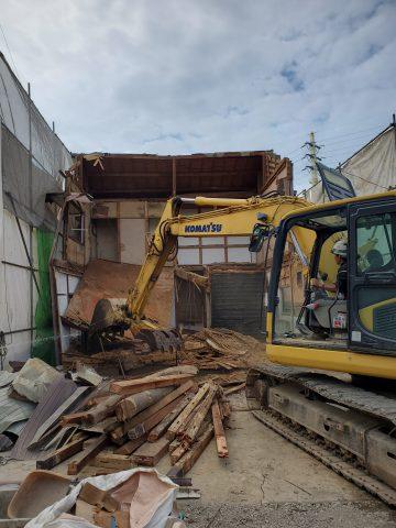 姫路市 空き家解体工事