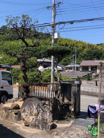 姫路市 植木の伐採剪定