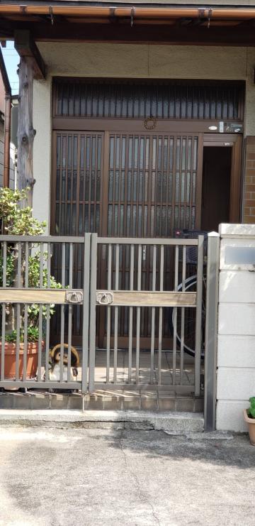 姫路市 玄関引き戸入替え工事