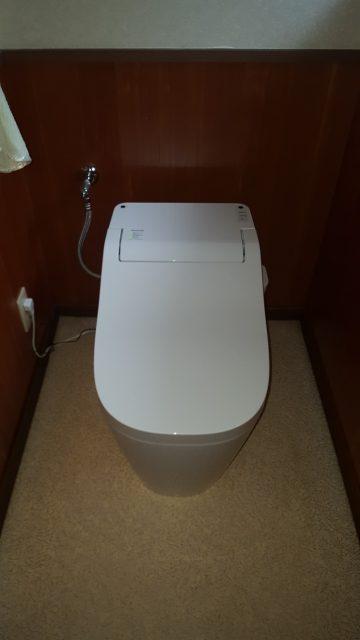 岡山県備前市 トイレ取替工事