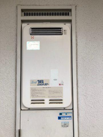 ガス給湯器の交換 マンション