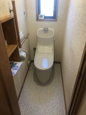 姫路市 便器から水漏れし交換
