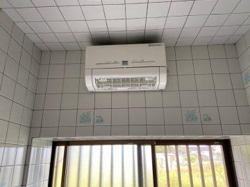 姫路市 浴室暖房機取付工事