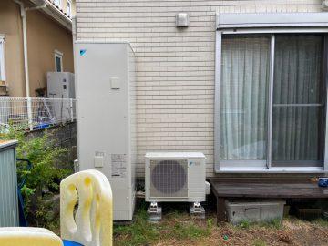 姫路市 電気温水器をエコキュートへ取替
